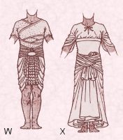 Egyptian Warrior King 1200 B.C. Free Fancy dress costume pattern