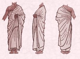 Early Assyrian Clothing - Shawl Styles.