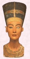 Nefertiti - Egyptian queen and wife of Akhenaton