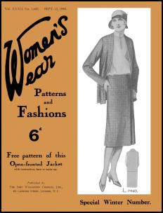 WOMEN'S WEAR FASHIONS SEPT 1930