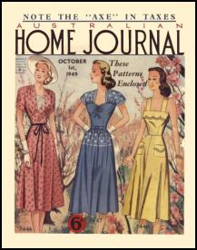 Late 1940s Dressmaking The Australian Ladies Home Journal 1949