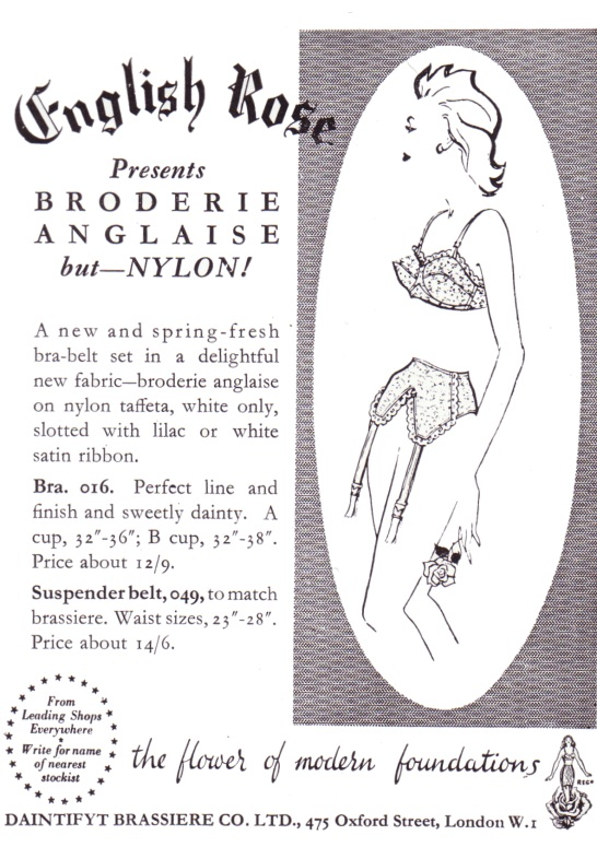 1950s Underwear Girdles Bras And Corselettes Fashion