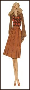 1970s Tank top and bloused sleeves - 1971