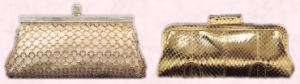 Magical clutch bag (mesh) Dune price �70.  Marcon snake skin style clutch bag from Dune. Price �40