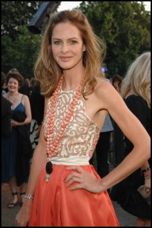 Trinny Woodall at the Swarovski Serpentine Gallery Summer Show.