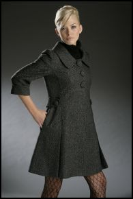Internacionale Autumn/Winter 2007 - Coat Dress �45, Tights �5.