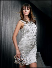 Principles Autumn Winter 2007 main collection - Silver lace circles dress �69/�110.