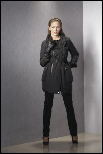 Matalan - Padded Parka Zipper Coat Jacket - 2007 Fashion History.