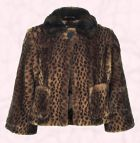 This short animal print faux jacket is from River Island Clothing Co. Ltd AW08 Womenswear