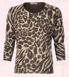 George at Asda -  Moda animal print cardigan Autumn 2008 trends.