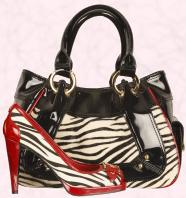 Zebra print fashion trends on fashion-era - Cici shoes and bag - Moda in Pelle