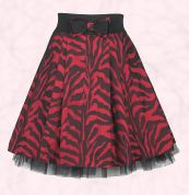 River Island Zebra print prom skirt �36.99 Product number 566065 in sizes 8-18 and also available in black and white zebra print