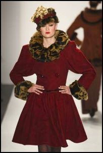 Kati Stern Drop Waist A-line Coat - 2008 Fashion History.