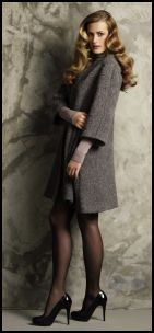 Episode - Greyed Taupe Long Jacket - 2008 Fashion History.
