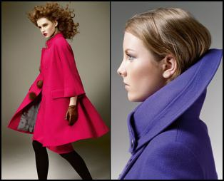 Aquascutum Swing A-Line Coats - 2008 Fashion History.
