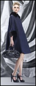 Dior Navy Pyramid Line Coat
