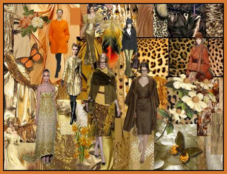 Apricot Golds Fashion Mood Board