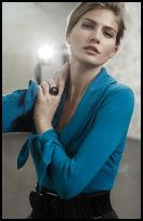 Wallis Autumn/Winter 2008 from the Wallis Exclusives range. Teal blue sweater �25.