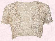Beaded Lace Bolero �80 and from fashion range by Phase Eight Autumn/Winter 2008.