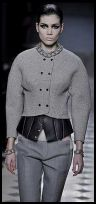 Sculpured Grey Jacket  Nicolas Ghesquiere for Balenciaga - 2008 Fashion History.