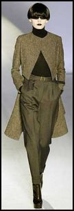Autumn trends 2008 - YSL pants.