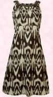 Dorothy Perkins Spring Summer 2008 Brown/cream safari print sun-dress �30 �45.
