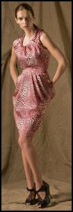 Dress from House of Fraser - Pink Leopard Print Dress �120/�144 by Untold.