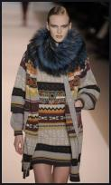Matthew Williamson Fair Isle Grey Mix Knitwear