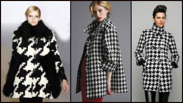 Fashion Coats Autumn 2009 -2010 - Houndstooths Checks