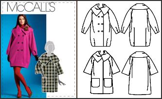 Sew Your Own Coat - McCall's Pattern M5939
