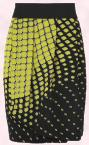 Square Print Tulip Skirt �10 AW09 - George Women George at ASDA.