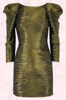 Limited Collection AW2009 Warm Olive Abstract Zebra Print Dress at Marks & Spencer, �49.50 in store November.