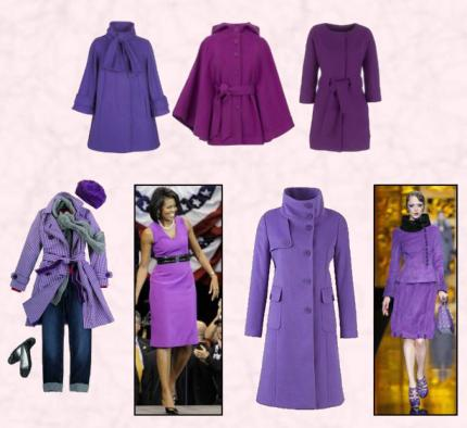 Purple Fashions - Fashion Trends on Fashion-era.com