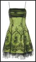 Green prom dress with floral detail from TK Maxx from �24.99/�28.48