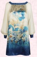 Blue Lapis tunic Dress High Summer 2009 - June Monsoon High Summer 2009 - Occasionwear.