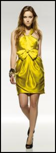 Michelle Obama Yellow - Super Lemon Dress at Warehouse. Spring Fashion Trend 2009