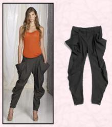 Benetton Dhoti Pants fashion trend for spring 2009