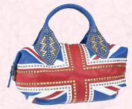 Union Jack Oversized Tote �150.00 - SS09 WW Hero Pieces at River Island Clothing Co. Ltd.