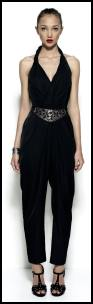 Spring fashion trends - Occasion wear - Oasis black evening jumpsuit.
