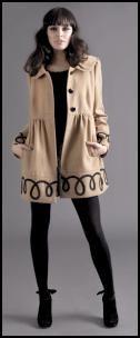 Camel Cornelli Coat Miss Selfridge