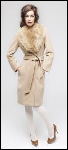 Primark - Cashmere Coat/Faux Fur Collar