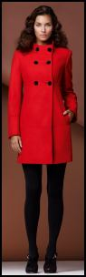Wallis Red Coat - Wallis AW10.