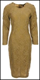 Burberry Prorsum - Camel Lace Dress