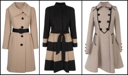 Camel & Black Coats