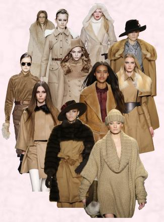 Women Camel Coats Fashion - Autumn 2010