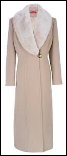 Jacques Vert - Long 128cm Luxury Coat