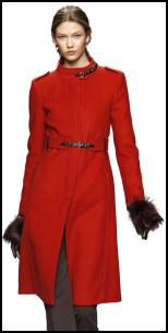 Sportmax Red Coat.