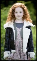 Childrenswear Shearling Jacket for Girls