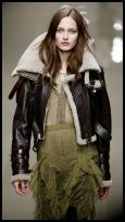 Burberry Designer Aviator Jackets