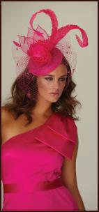 Frank Usher Stretch Satin Short Asymmetric Peony Pink  Dress - One Shoulder Bow.